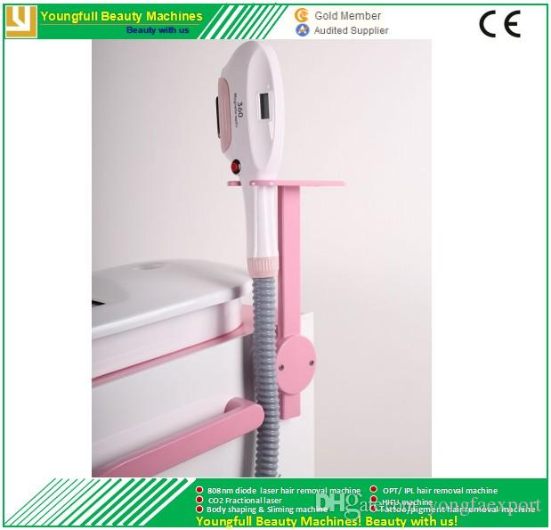 Improved IPL technology Permanent effect 500,000 shots UK Xenon lamp no need filter CE approved360 Magneto shr opt IPL hair removal machine