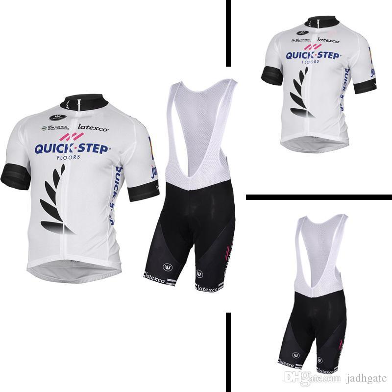 95de6864c 2018 Quick Step Team Summer Cycling Jersey Short Sleeve Breathable Bike  Clothing Bicycle Sportswear Ropa Ciclismo GEL Pad Bib Pants 10601 Cheap Bike  Cycling ...