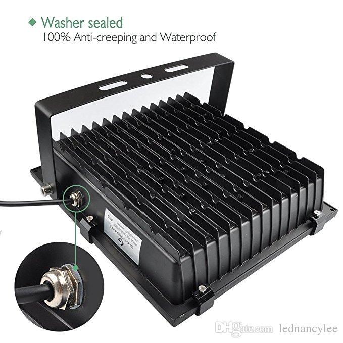 ضوء الفيضانات LED ، 100W 500W هالوجين Equiv ، IP65 أضواء العمل في الهواء الطلق للماء ، 6500K ضوء النهار الأبيض ، الكاشف في الهواء الطلق للمرآب