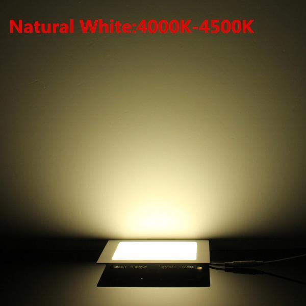 DHL / Design ultra mince 25W AC85-265V LED encastré au plafond downlight / mince panneau lumineux carré