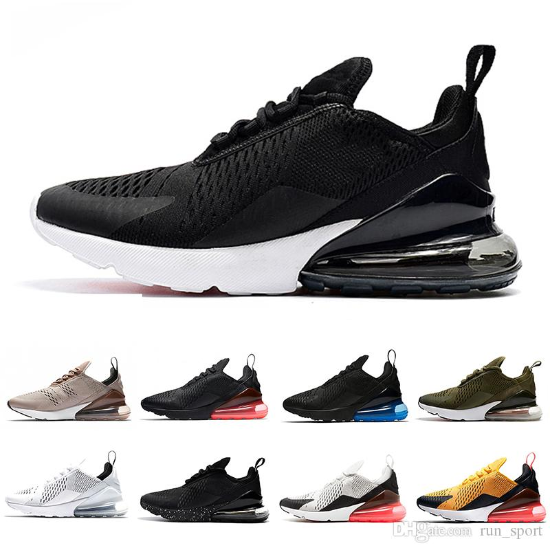 Wholesale New 270 Tiger Cactus Triple Black White Pink Running Shoes ... 3d3f46b98