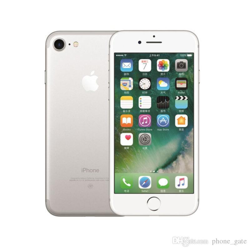 unlocked Refurbished Apple iPhone 7 Mobilephone 2RAM 32/128GB ROM Quad-Core 4G LTE IOS System iPhone7 With Fingerprint Unlocked SmartPhone