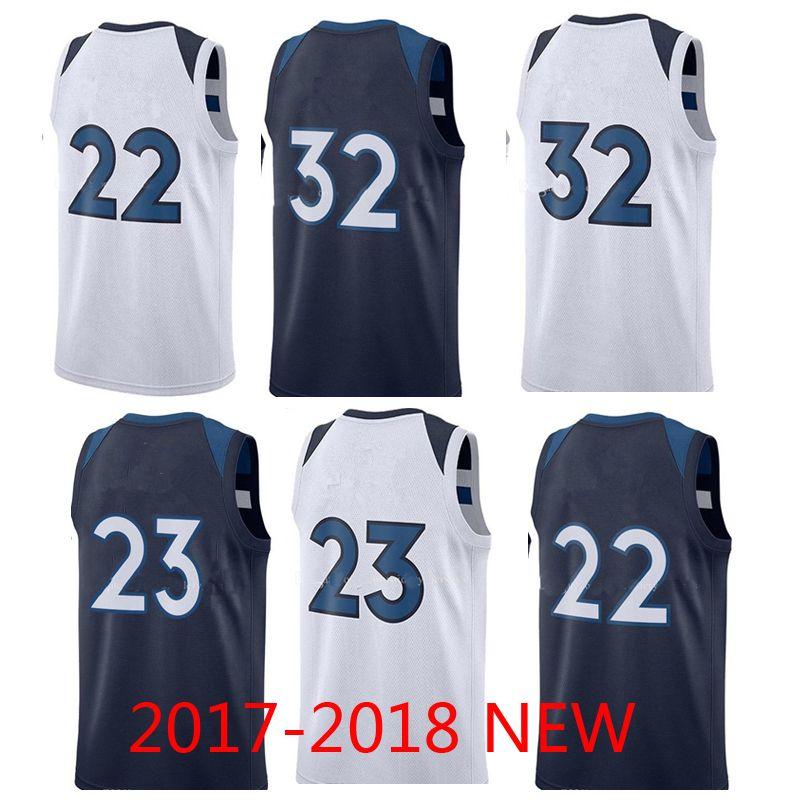 Best 22 Andrew Wiggins Jersey 23 Jimmy Butler 32 Karl Anthony Towns Men S  City Grey Black Basketball Jerseys Under  15.08  c866f4336