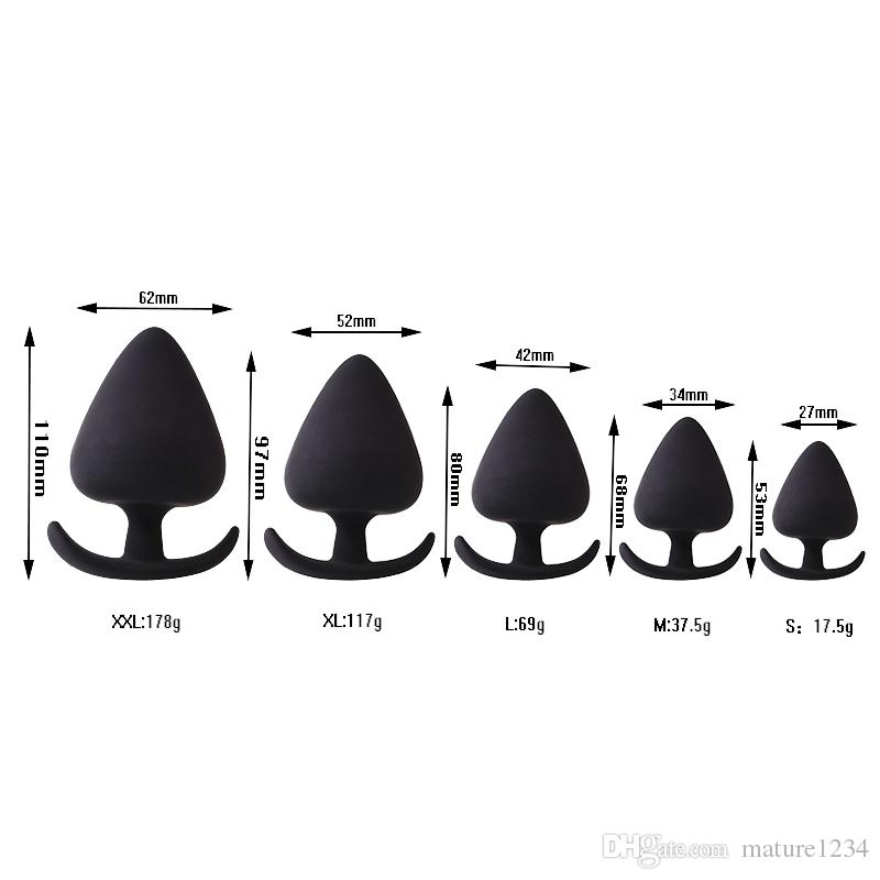 Butt size for anal sex