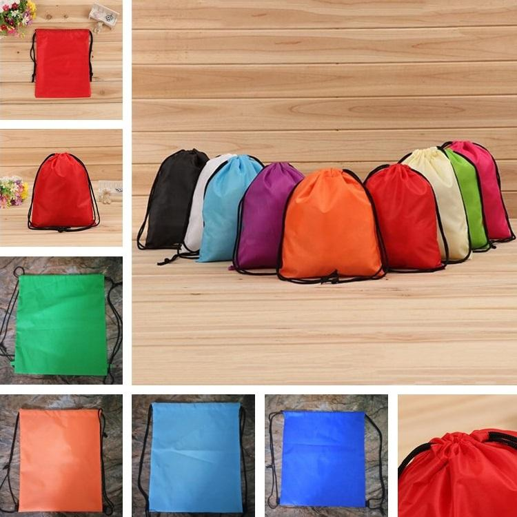photograph relating to Printable Backpacks identified as Fresh Tailor made-built Oxford Bag Backpack Baggage Rope Sack Marketing and advertising Advertising Presents Drawstring Oxford Bag Printable Brand T7D062