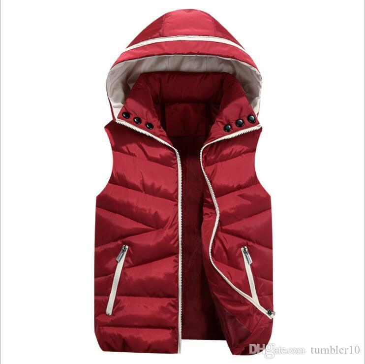 5e69e6388 Vest Men New Stylish Autumn Winter Warm Sleeveless Jacket Army ...