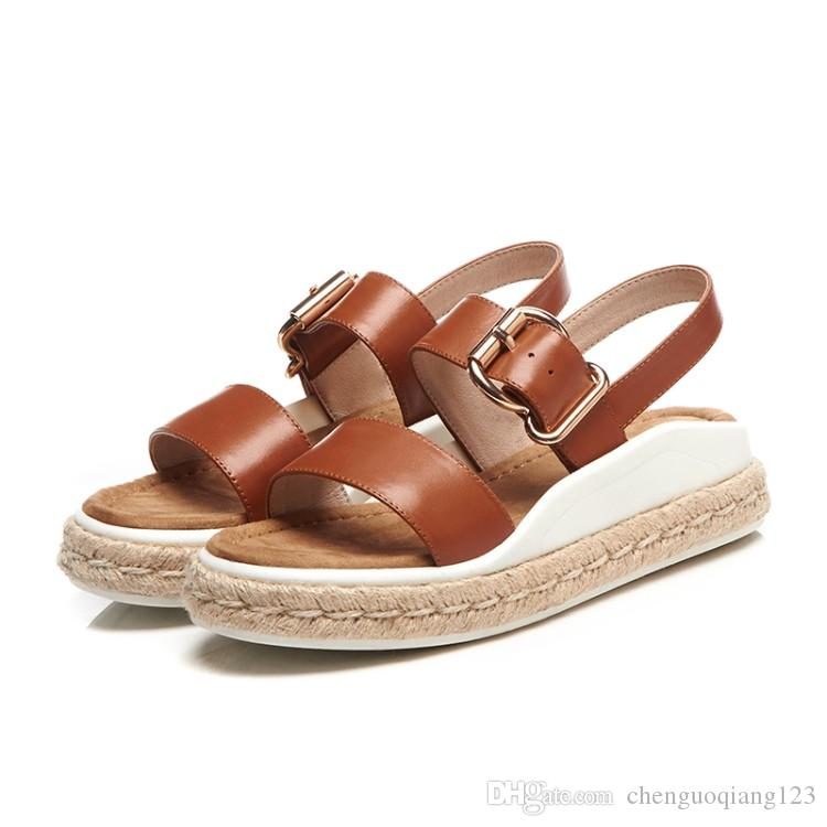ae9fe4c821e Women Flat Sandals Buckle Strap Thong Flip Flop Sandal Summer Shoes Silver  Shoes Mens Sandals From Chenguoqiang123