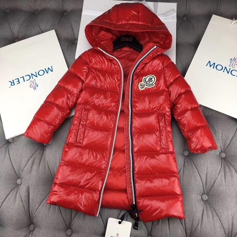 fcea061be 2018 Children s Long Down Jacket is High Enough for Heavy Cargo Wind ...