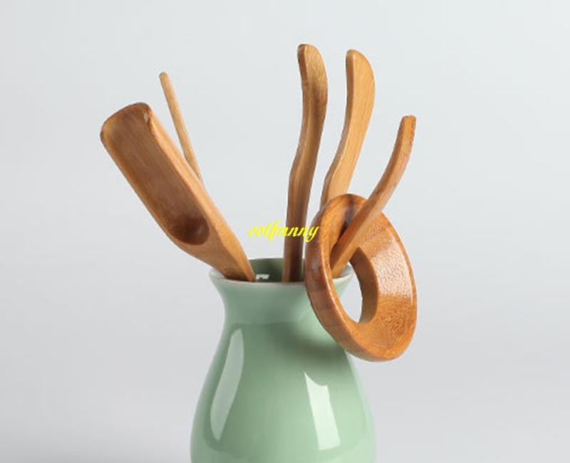 Bamboo Tea Spoon tea clip leak needle teaspoon Kung Fu Tea Set