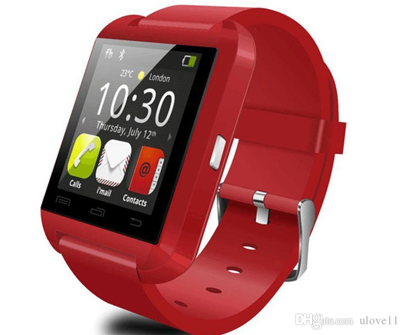 One piece U8 smart watch Android bluetooth watches Touch Screen Sleeping Monitor U8 Wrist smart Watches for android IOS phone