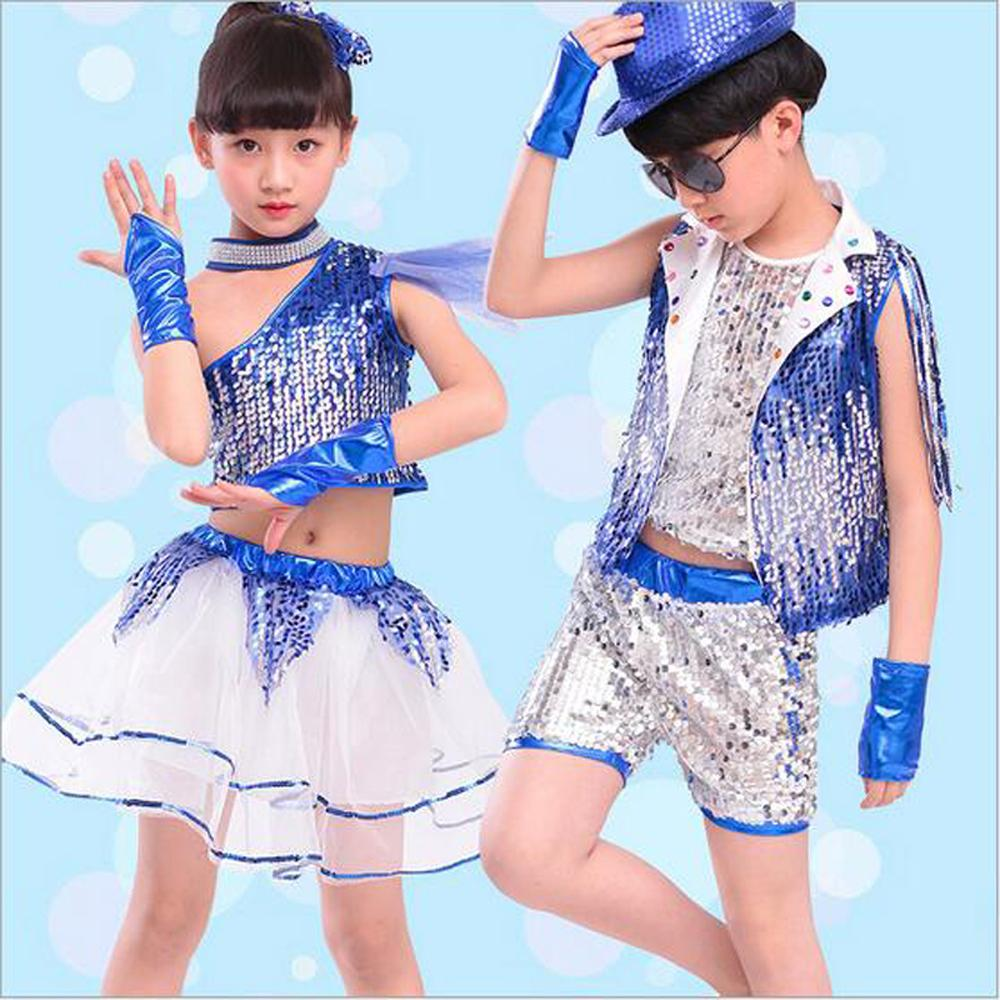 daa38e7a9 2019 Bazzery Children Jazz Dance Clothes With Wristbands Modern Dance  Ballroom Costume Jazz Suit For Primary School Kindergarten Kids From  Saltblue, ...