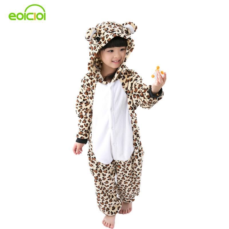 18023535be Flannel Animal Cartoon Pajama Onesie Baby Pajamas Warm Animal Kids Girls  Boys Leopard Children Sleepwear Onesies Nightwear Cotton Pjs For Boys Cheap  Boys ...
