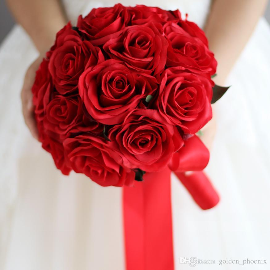 Acheter Bouquet De Mariee Style Chinois Boule De Fleur Personnalise