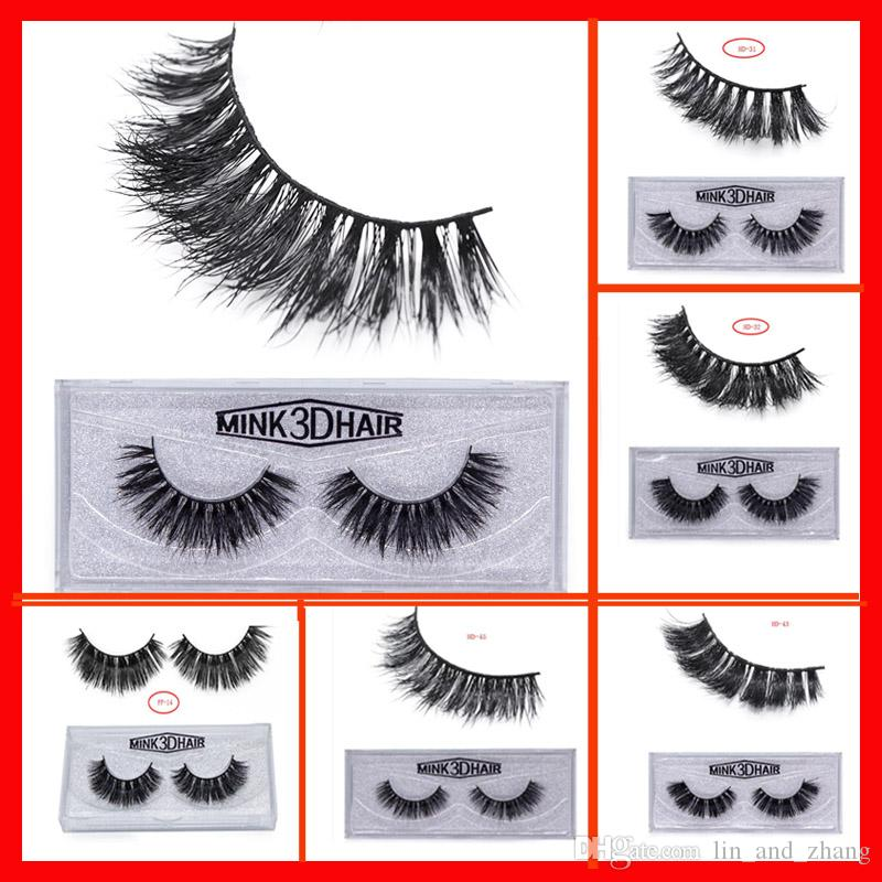 2ec0df2cf85 22styles 3D Mink False Eyelashes Makeup 100% Real Mink Natural Thick False  Fake Eyelashes Eye Lashes Makeup Extension Beauty Tools Eyelashes Falling  Out ...
