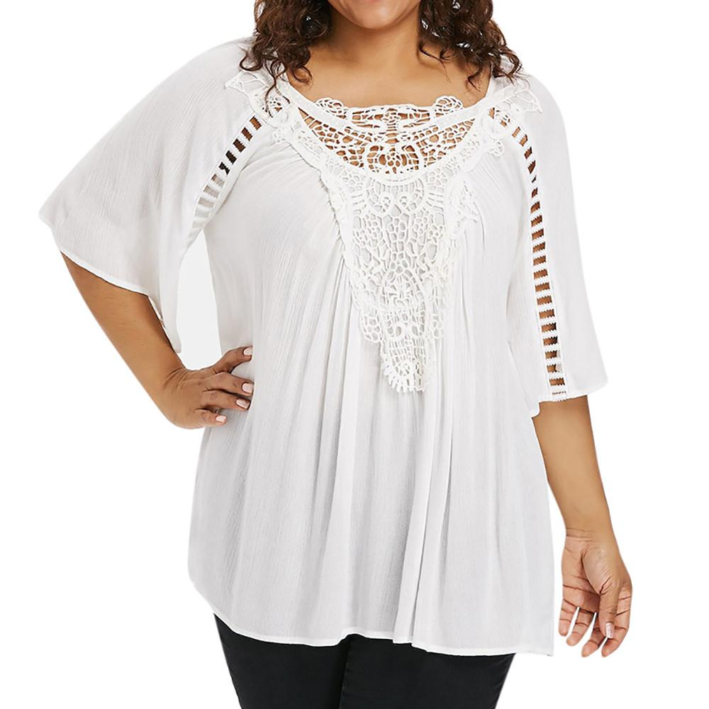 b30cdc07ec223 2018 Plus Size 5xl Summer Tops For Womens Tops And Blouses 2018 ...