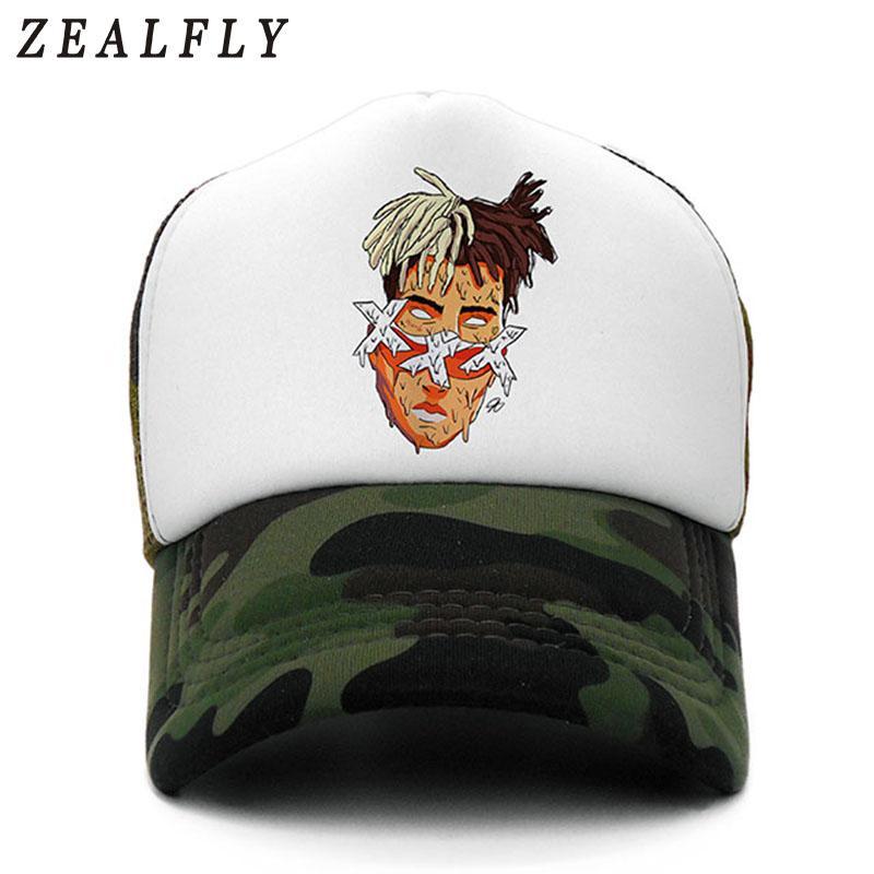 Xxxtentacion Summer Mesh Baseball Cap Hats For Men Women Gorras Hombre Hats  Casual Hip Hop Caps Dad Casquette Zephyr Hats Kids Hats From Alley66 e9bdbff31ec2