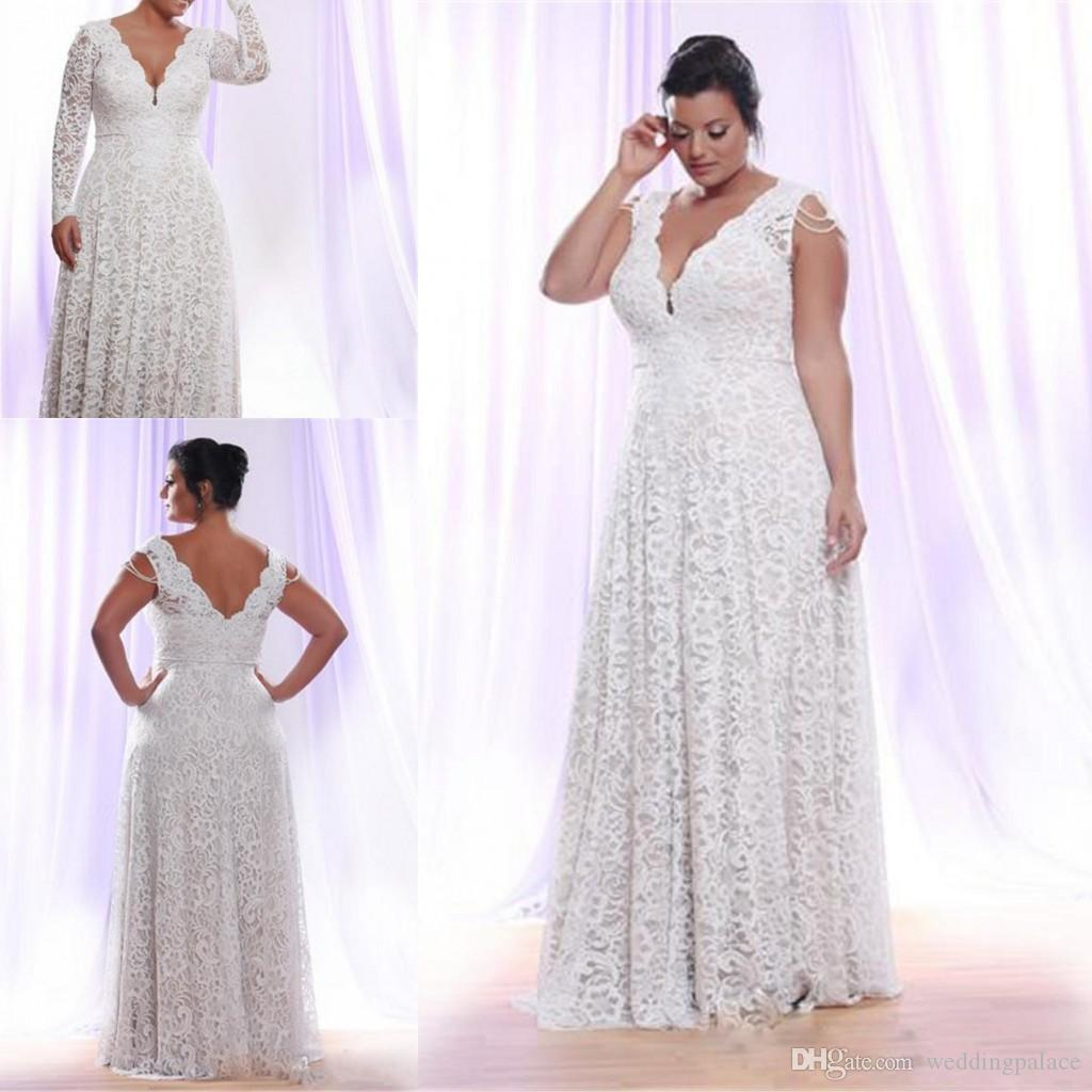 37532054515 Wedding Dresses Lace Plus Size