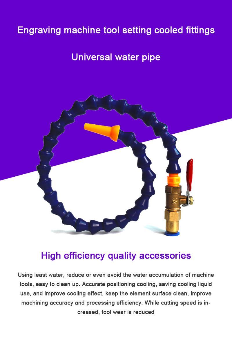 2020 CNC Machine Part Flexible Oil Coolant Pipe Hose Blue ...