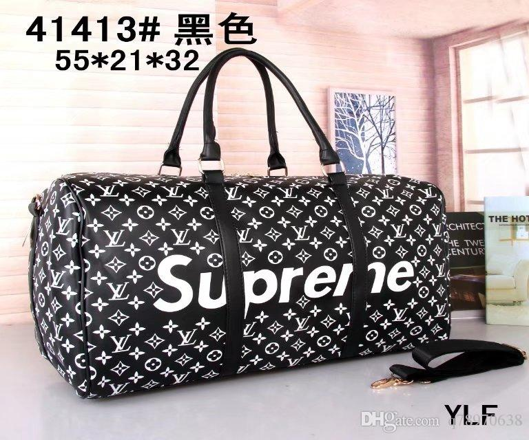 Newest LV Men Women Travel Bag Duffle Bag Brand Louis Vuitton Designer  Luggage L Handbags Large V Capacity Sport Bag Free Shipping GG a61ad6a1f0e3b