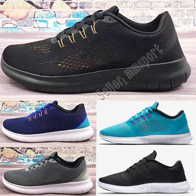 half off 8d30d 53f6e ... Nike Free Run 5.0 Alta Calidad Nuevo Arrivel Zoom All Out Knit Racer  Hombres Mujeres Running Cojín Superficie Transpirable Fly Line Sneaker  Sport Shoes ...