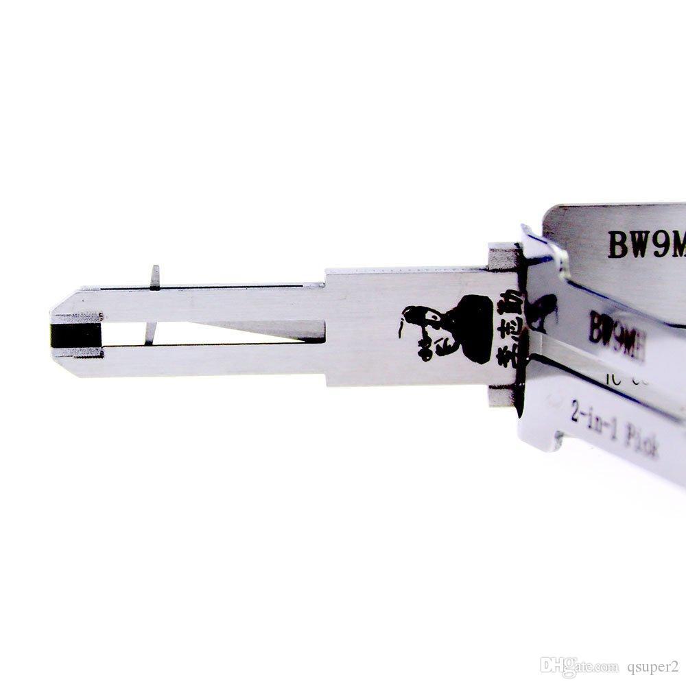 2017 LISHI Пескоструйная обработка BW9MH 2 in1 Авто Pick and Decoder для BMW Мотоцикл Инструмент