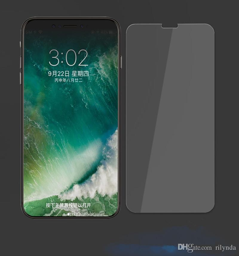 Tempered Glass Screen Protectors For Iphone 8 Top Quality Best Price 9H HD Tempered Glass Screen Protector without retail box DHL Shipping