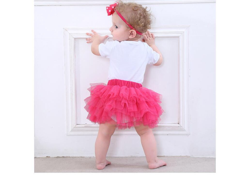 Romper Cute Skirt with Headband Kids Clothing Baby Romper Tulle Bowknot Skirt Clothes 8 Styles Cotton DHL