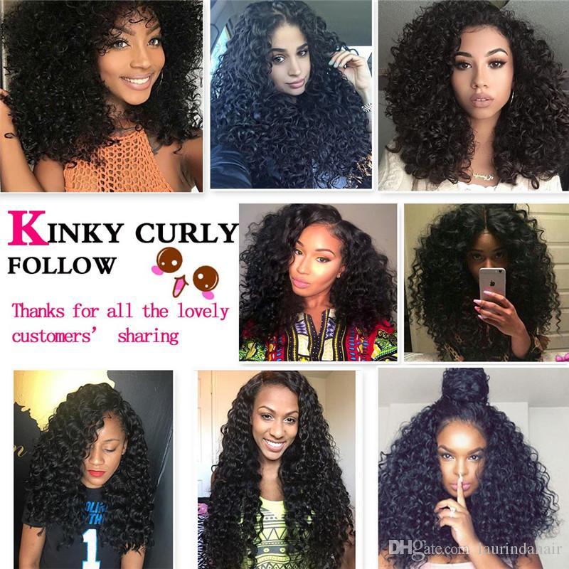 Siyah Kadınlar Için peruk Kinky Kıvırcık Afro Katmanlı Saç Kesimi Afro-amerikan Peruk Siyah kadın Kapaksız Doğal Peruk Orta