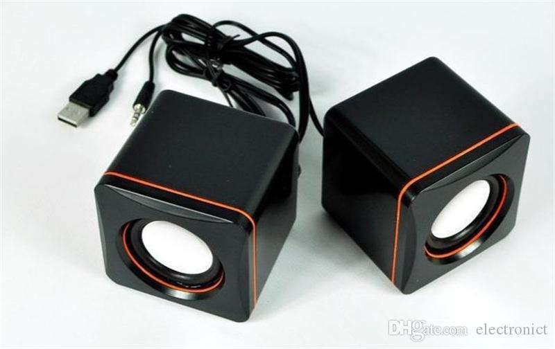 Wire Mini Pc Speakers Music Usb 2 0 Stereo Portable Computer Speaker For Laptop Desktop Notebook Hifi Multimedia Speaker
