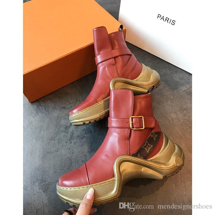 Acquista CON SCATOLA 2018 NUOVA Sneaker Da Donna Archlight Di Lusso Da Uomo  In Vera Pelle Scarpe Da Ginnastica TPU Suola Scarpe Da Corsa Casuali Scarpe  ... 2e549c20cc2