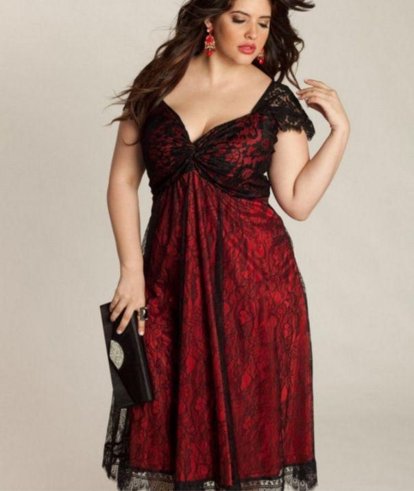 Plus Size L - 5XL Black Lace Women Dresses 2018 Hot Sale con cuello en V Mangas cortas Una línea Mid Calf Casual Dress Primavera y verano