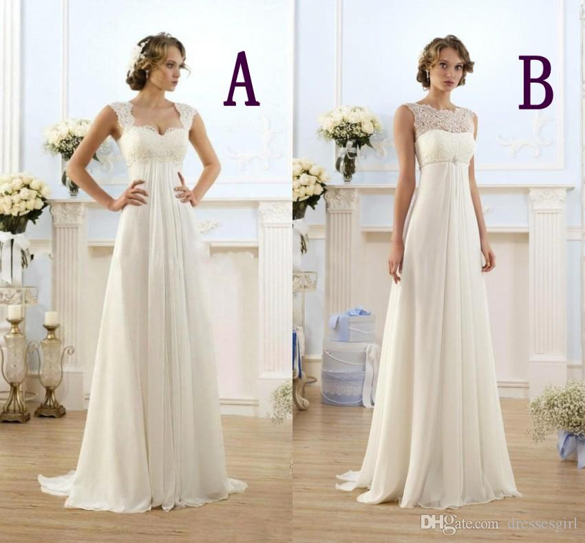 Discount Designer Wedding Gowns: Discount New Summer Bohemian Wedding Dresses Cheap