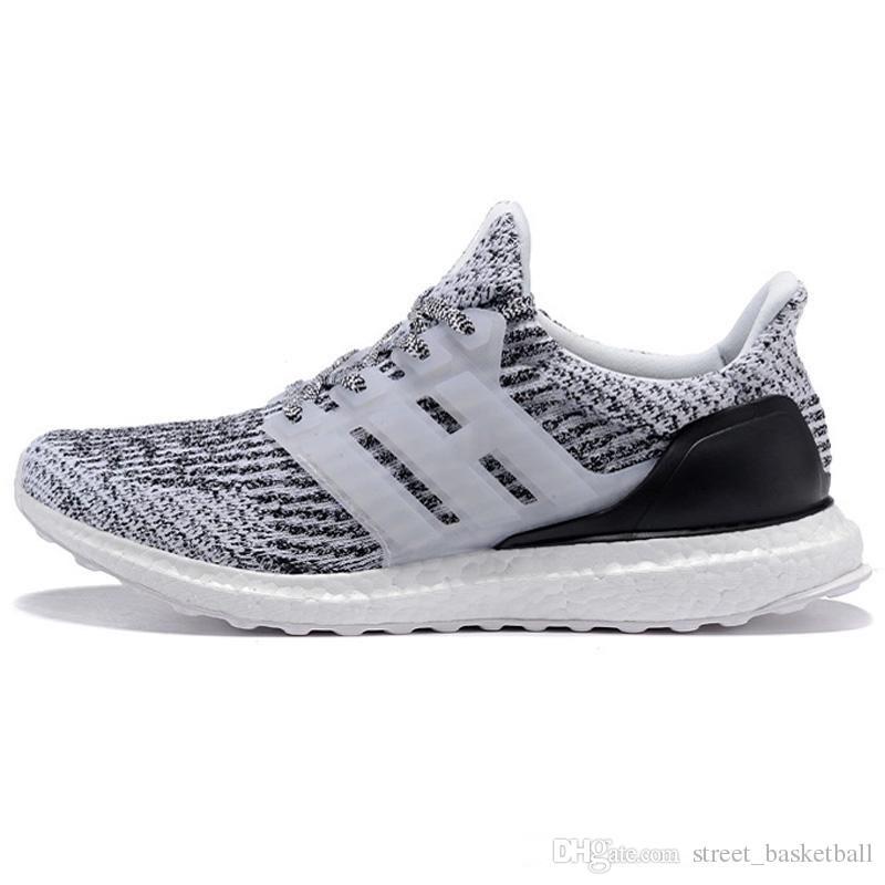 7688f0013 Satın Al UltraBoost 3.0 4.0 Erkekler Kadınlar Koşu Ayakkabıları Üçlü Siyah  Beyaz CNY Oreo Mavi Ultra Ayakkabı Spor Sneaker Eur 36 45