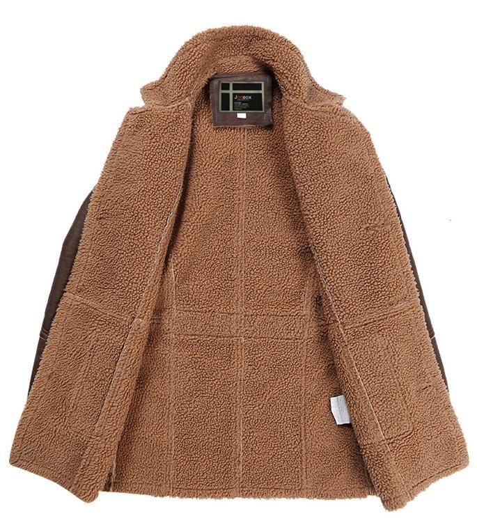 JOOBOX 2017 뉴 브리티시 스타일 Slim fit mens 롱 트렌치 코트 캐주얼 자켓 가을 겨울 턴 다운 칼라 블랙 남성용 스포츠 용 재킷