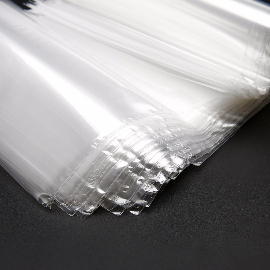 100pcs POF Transparent Shrink Wrap Film Bag Heat Seal 100x150mm For Gift Packing