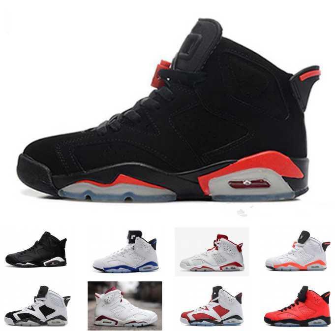 bb29e8483e53 Купить Оптом Nike Air Jordan 6 Retro Jordans Retros Оптовые Баскетбольные  Ботинки Скидка Беговые Кроссовки Дешевые Спортивные Кроссовки Велоспорт  Футбол ...