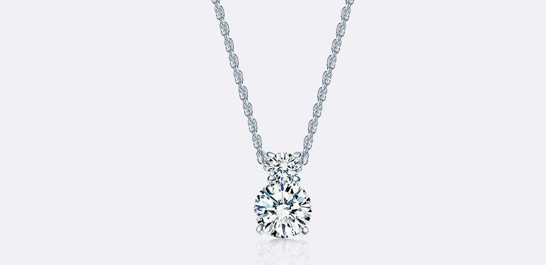 Luxury Sparkling Clear Zircon Gourd Pendant Necklace and Earrings Wedding Jewelry Sets For Women Best Gift set55