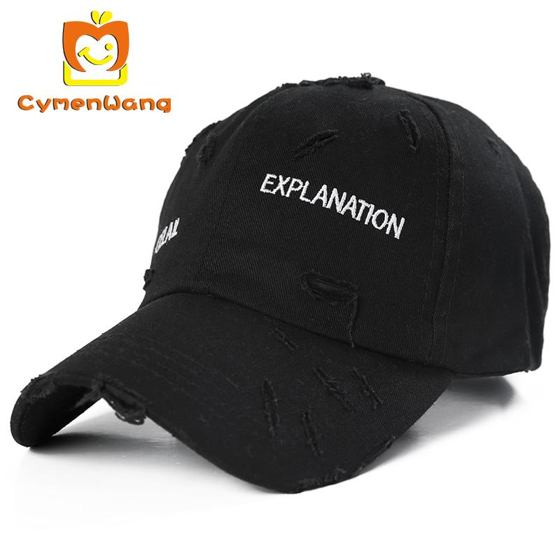 Cymenwang Spring Cotton Baseball Caps Snapback Hat Summer Cap Do Old ... 59283f10b84
