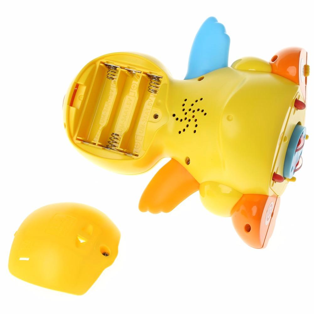 49548f00e HBB LOVELY Musical Duck Toy Lights Action With Adjustable Sound Toys For  Kids Baby Electronic Pet Doors For Large Dogs Pet Doors Electronic From ...