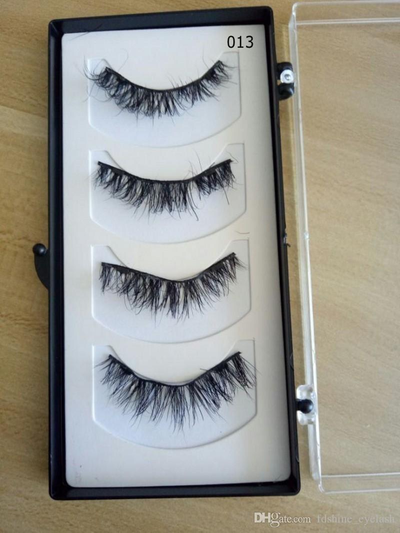 Hot Makeup Magnet Magnetic False Eyelashes 3D Mink Reusable Lashes Natural Long Thick Eyelash Extensions