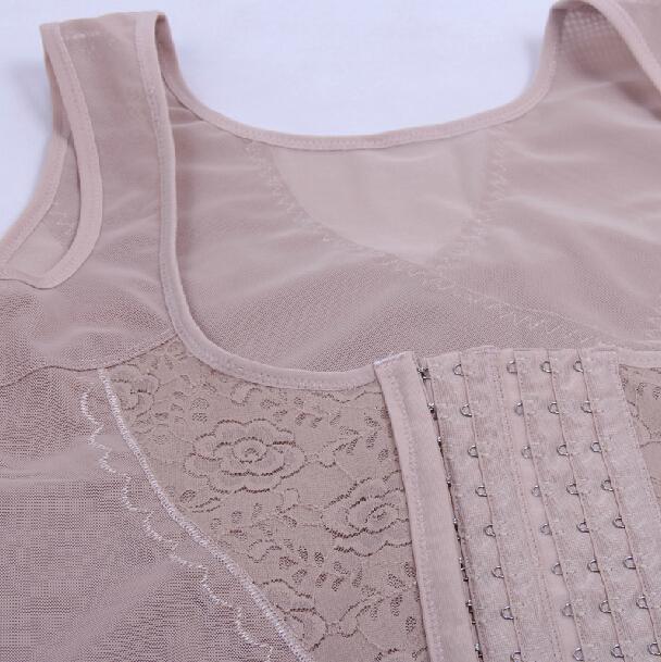 Плюс Размер Корсеты и Бюстье Женщины Для Похудения Bodyshaper Top Vest Сундук Binder Lifter Талия Тренажер Cincher Тела Shaper
