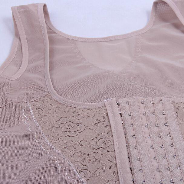 Plus Size Korsetts Und Bustiers Frauen Abnehmen Bodyshaper Top Weste Brust Binder Kolbenheber Taille Trainer Cincher Körper Shaper