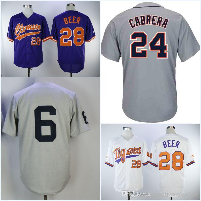 new styles 78012 39039 Men s 1968 6 Al Kaline Baseball Jersey 28 Seth Beer High Quality Jerseys  Top Quality All Stitched Cheap Authentic Stitched Free Shipping