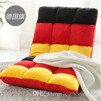Lazy Sofa Cushion Adjustable 6-Position Folding Floor Chair Gaming Chair Relax Chair Multiangle Couch Beds for Watch TV Midrest Nap Coffee