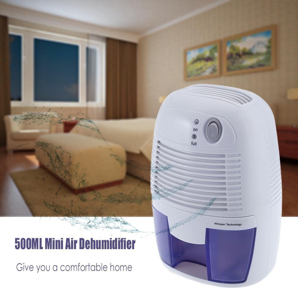 Großhandel Tragbare Mini Luftentfeuchter 500 ML Kapazität ABS ...
