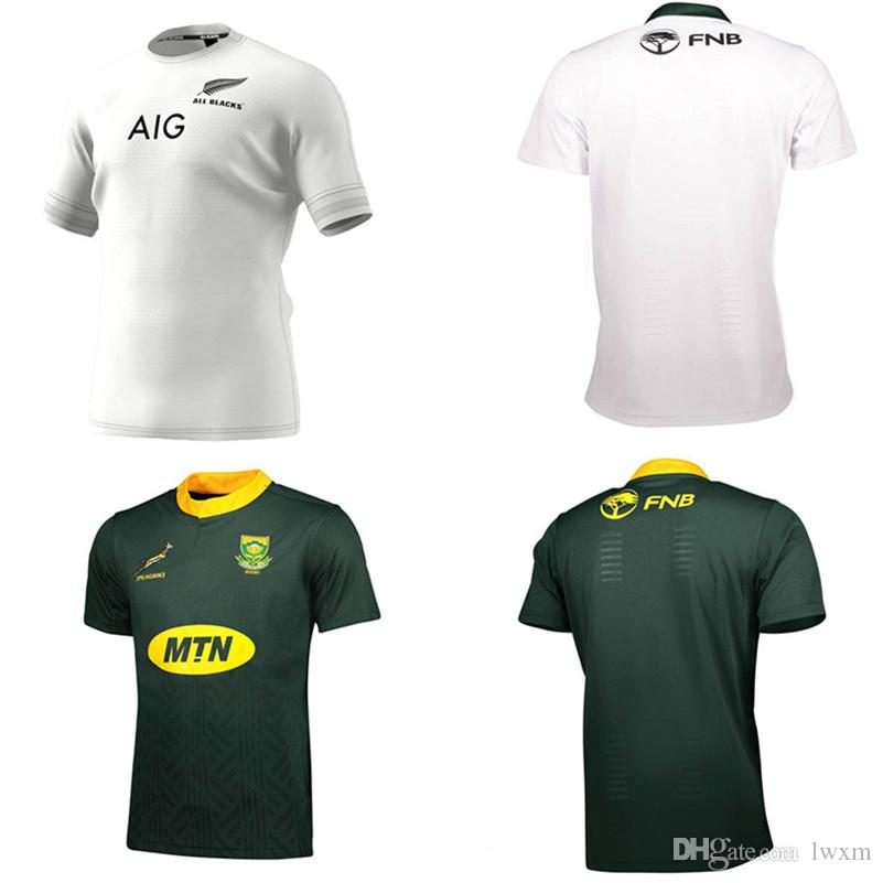 2018 2019 South Africa Rugby Home And Away Jersey Shirt Springboks