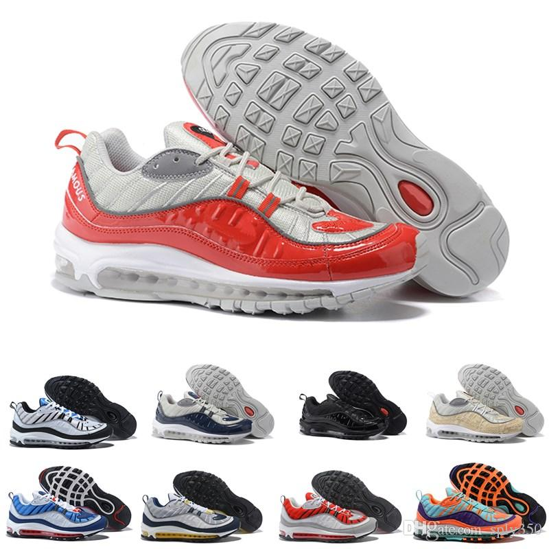 6d80c68b8 2018 New Fashion Classic Style 98 Men Running Shoes Authentic Sports Shoes  For Men High Quality Top Sneakers Size 40-46 Running Shoes Men Shoes  Basketball ...