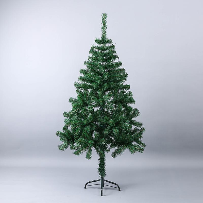 150cm Luxury Artificial Plastic Christmas Tree Diy Decoration Iron
