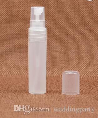 Оптом ! 3 мл 5 мл 8 мл 10 мл пластиковые матовый духи атомайзер, спрей бутылка, флакон духов бесплатная доставка