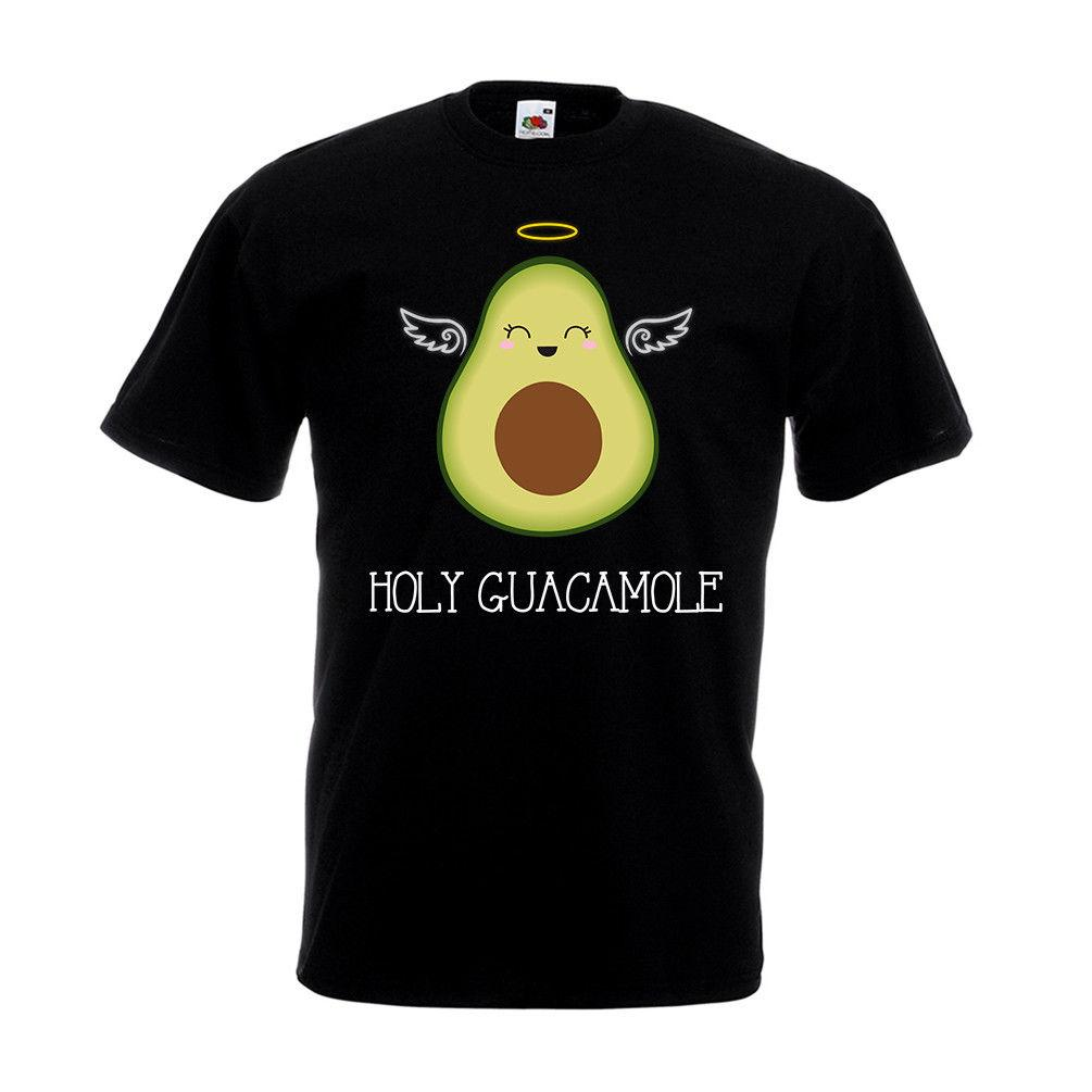 beaa654d88357 Holy Guacamole T Shirt Funny Gift Top Avocado Vegan Vegetarian Angel Moly  Shirt Online Cartoon T Shirts From Toptees32, $11.63| DHgate.Com